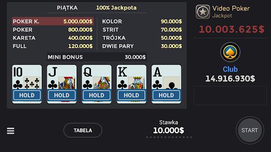 Club Video Poker - náhled
