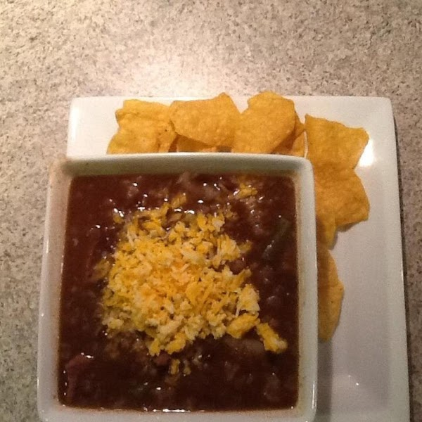 Fajita Black Bean Soup Recipe