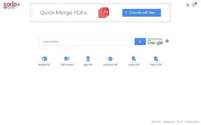 Soda PDF: Merge PDF Files