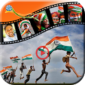Independence Day Photo to Video Maker icon