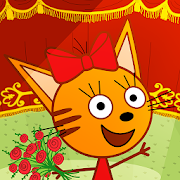 Kid-E-Cats Circus! Three Cats in Game for Kids!