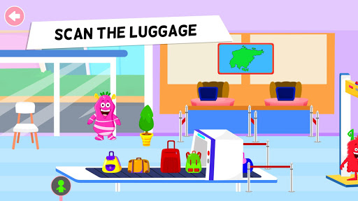 My Monster Town - Airport Games for Kids Apk 2