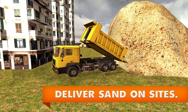 Sand-Excavator-Truck-Simulator 22