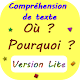 Compréhension de texte Lite Download on Windows