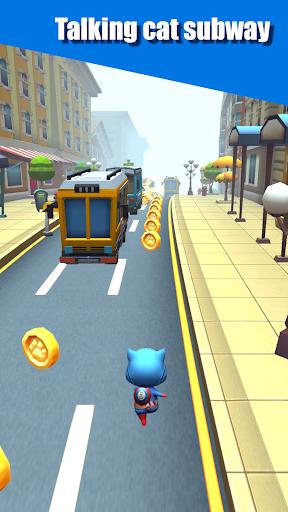 Cat Run - My Tom Subway Surf & Cat Talking 1.5 screenshots 1