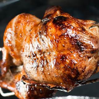 Rotisserie Duck with Orange Chipotle Sauce