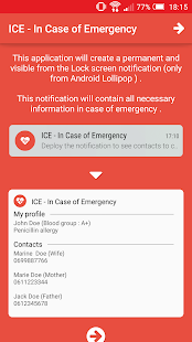 ICE - In Case of Emergency- screenshot thumbnail