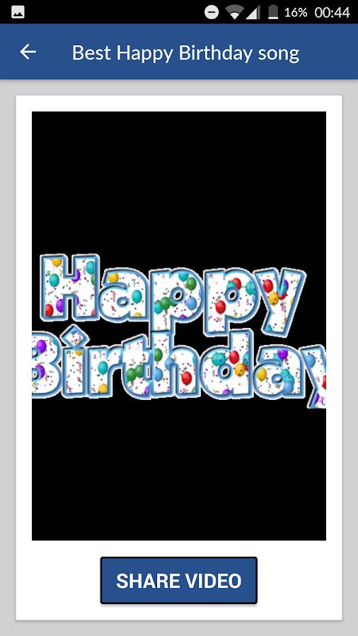 verjaardagsliedjes free download