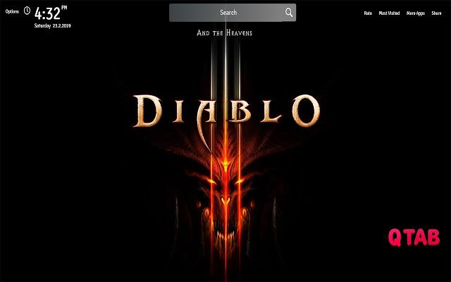 Diablo 3 Game Wallpapers Diablo 3 Game Tab