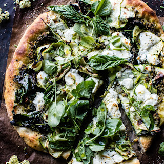 Garden Greens Goddess Pizza.