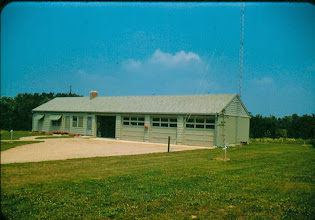 Photo: Cabin Building July 31st, 1957