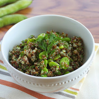 Dill Quinoa with Fava Beans Recipe