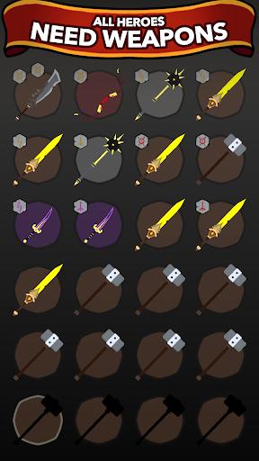 Blacksmith - Merge Idle RPG  screenshots 3