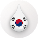 Drops: Learn Korean language and Hangul alphabet icon