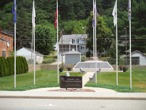 Photo: La Crosse WI to Portage WI  Another small town memorial to veterans