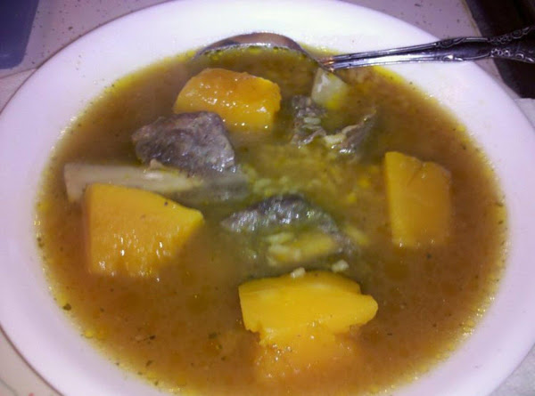 Beef Short Rib Soup With Rice & Calabaza Recipe