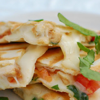 Apricot Chicken Quesadillas
