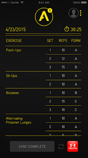 Atlas HIIT Workout Tracker- screenshot thumbnail