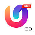 U Launcher 3D: New Launcher 2020, 3d themes apk