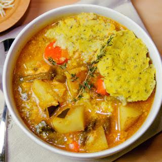 Slow Cooker Gluten-Free Chicken and Quinoa Dumplings.