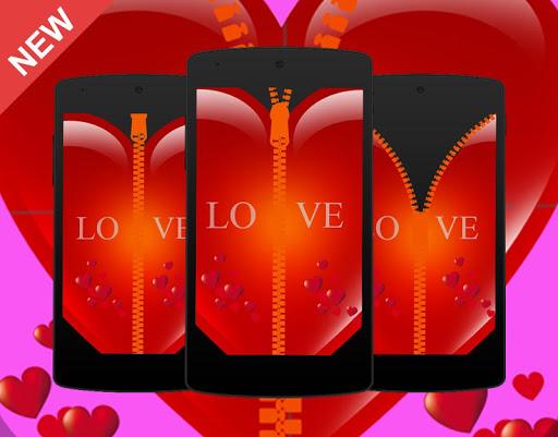 Heart Love Locked Screen