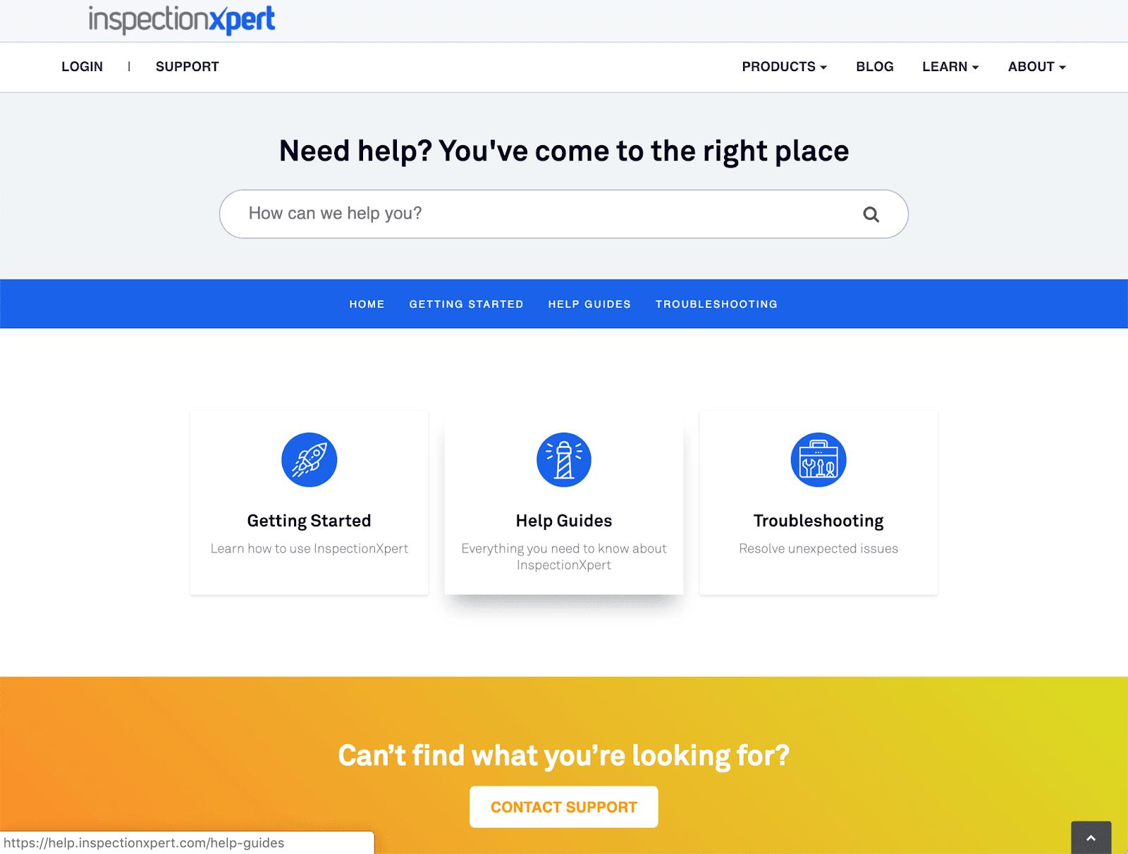 Inspection Xpert screenshot