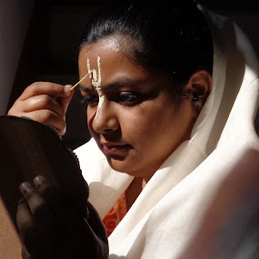রসকলি by Atreyee Sengupta - People Portraits of Women (  )