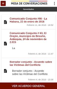 Mesa de Conversaciones screenshot 0