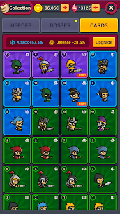 Merge Battle Heroes Mod Apk Download For Android and Iphone 5