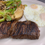 Two Eggs with Skirt Steak