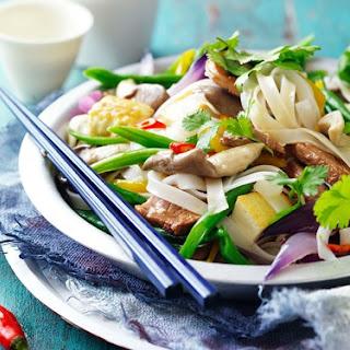 Pork And Tofu Rice Noodles