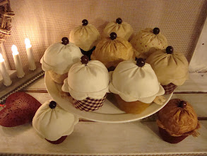Photo: muffins decorativi tilda