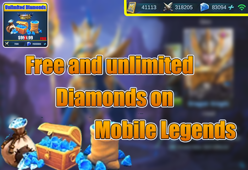Diamonds Mobile Legends Bang bang Prank for PC