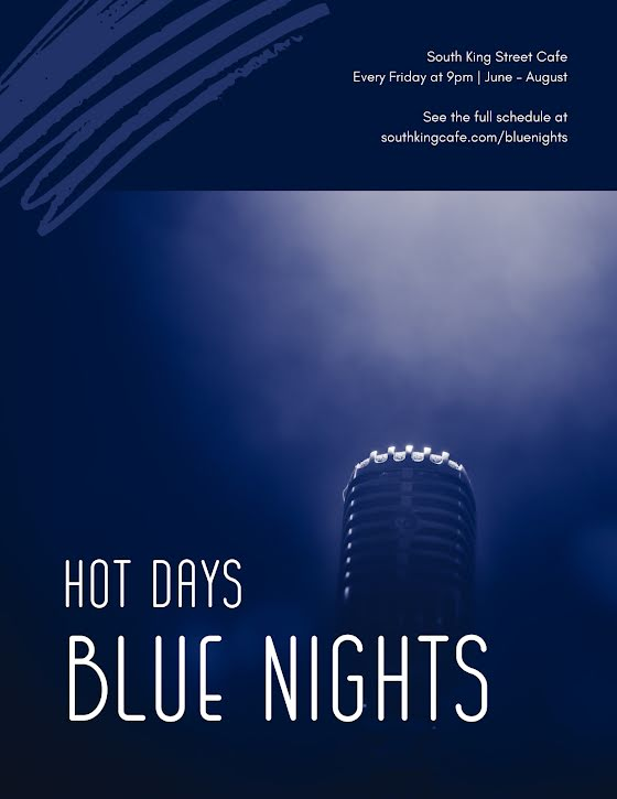 Hot Days & Blue Nights - Flyer Template