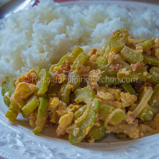 Ginisang Ampalaya Recipe (Sauteed Bitter Melon With Eggs).