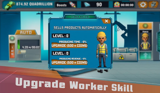 Factory Tycoon : Idle Clicker Game 0.4 screenshots 2