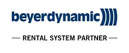 Logo Beyerdynamic Rental System Partner