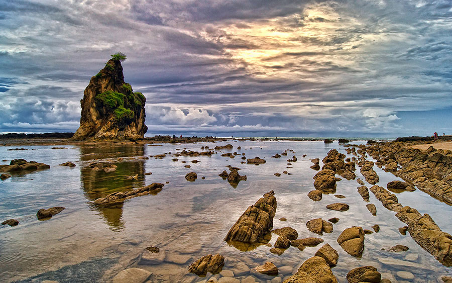 Sawarna Sunset by F.N. Hendrawan - Landscapes Travel