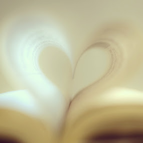Heart from Book of Life by AsDigiClicks Photography - Digital Art Things ( love, heart, life, pages, book )