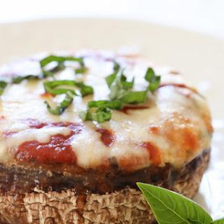 Veggie Lasagna Stuffed Portobello Mushrooms.