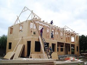 Photo: Budowa pensjonatu w Rumunii