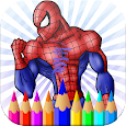 Amazing Coloring Spider-man Avenger Hero icon
