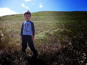 Photo: Clark on Quail Hill (Album Cover)