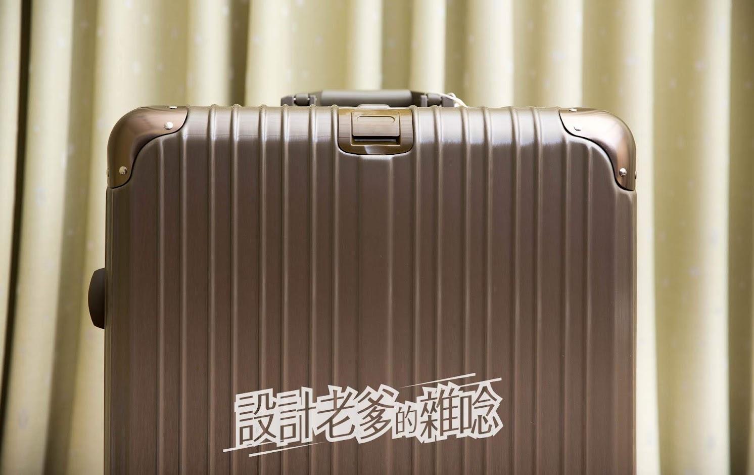 新入手的超級旅遊好幫手!With Me 29吋鈦金灰行李箱