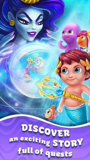 Seascapes : Trito's Match 3 Adventure 2.6 screenshots 2