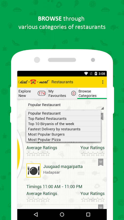 Dial-a-Meal- screenshot