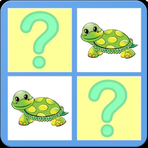 Animals Memory Puzzle Game