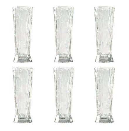 CLUB NO. 11 Veteölglas 6-pack 500 ml Crystal clear