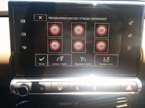 Photo: Programmation régulateur de vitesse