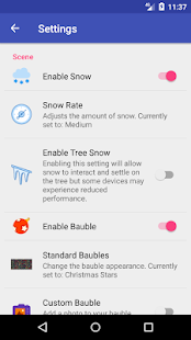 Winter Snow Live Wallpaper Premium - náhled